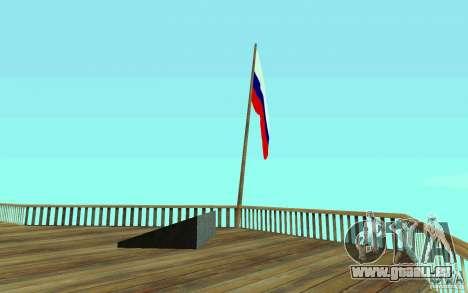 Die Flagge von Russland bei Chiliad für GTA San Andreas zweiten Screenshot