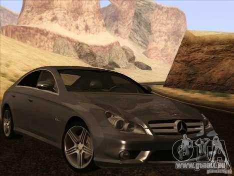 Mercedes-Benz CLS63 AMG pour GTA San Andreas