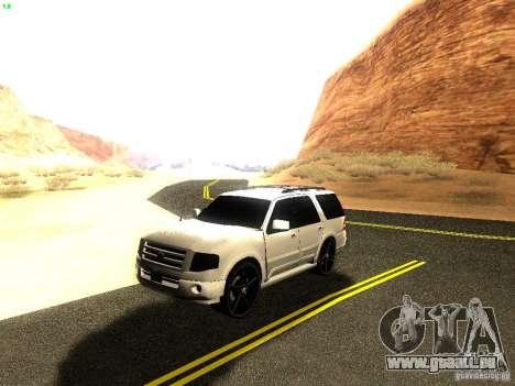Ford Expedition 2008 für GTA San Andreas Innenansicht