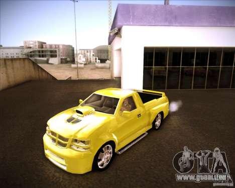 Dodge Dakota tuning pour GTA San Andreas