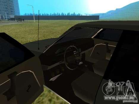Moskvich 2141-sinkenden 45 für GTA San Andreas Rückansicht