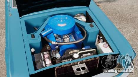 Ford Mustang Customs 1967 pour GTA 4 est une vue de l'intérieur