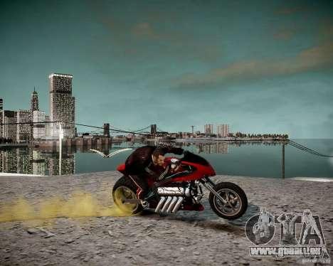 Drag Bike für GTA 4 rechte Ansicht