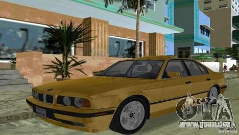BMW 540i e34 1992 pour GTA Vice City