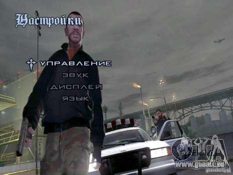 Menu comme dans GTA IV pour GTA San Andreas troisième écran
