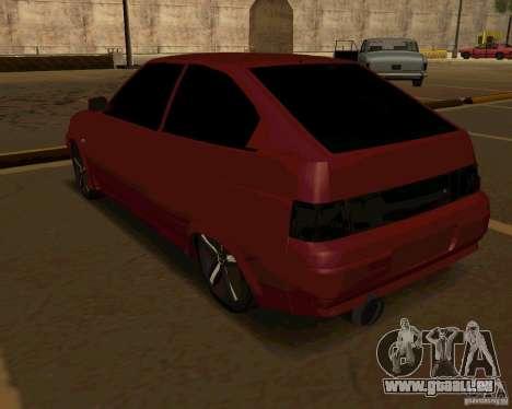 LADA 2112 coupé c. 2 pour GTA San Andreas vue de droite