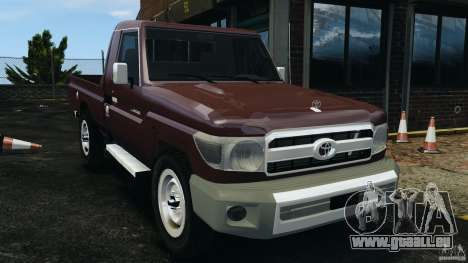 Toyota Land Cruiser Pick-Up 2012 pour GTA 4