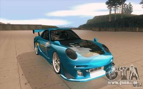Mazda RX-7 911 Trust für GTA San Andreas Rückansicht