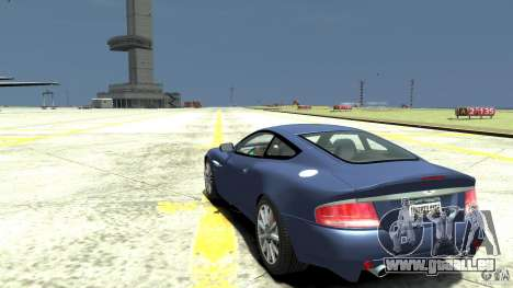Aston Martin Vanquish S für GTA 4 hinten links Ansicht