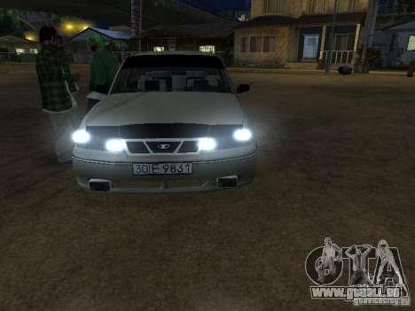 Daewoo Nexia pour GTA San Andreas vue de droite