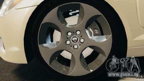 Jaguar XFR 2010 v2.0 pour GTA 4 est un droit
