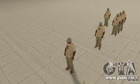 Eine Menge von CJ für GTA San Andreas zweiten Screenshot