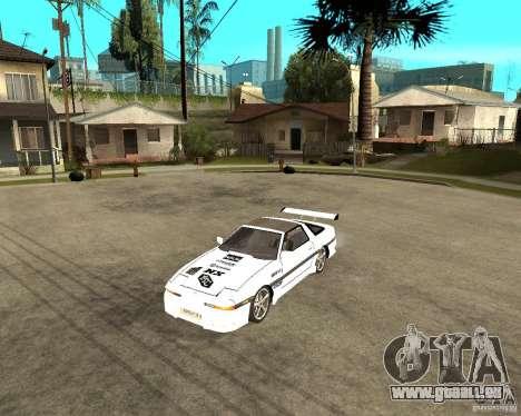 Toyota Supra MK3 Tuning pour GTA San Andreas laissé vue