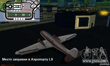 Essence capteur unique pour GTA San Andreas cinquième écran