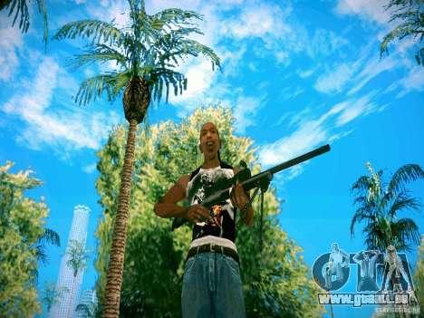 Armes Pack HD pour GTA San Andreas deuxième écran