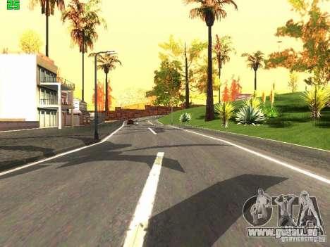 Roads Moscow pour GTA San Andreas troisième écran