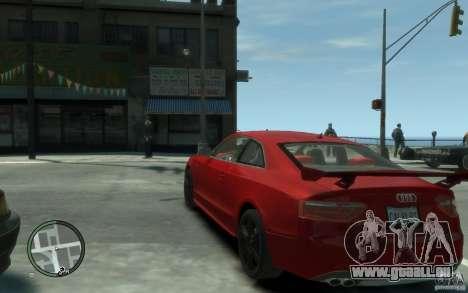 Audi S5 v2 pour GTA 4 Vue arrière de la gauche