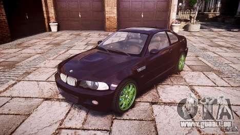 BMW M3 e46 2005 pour GTA 4