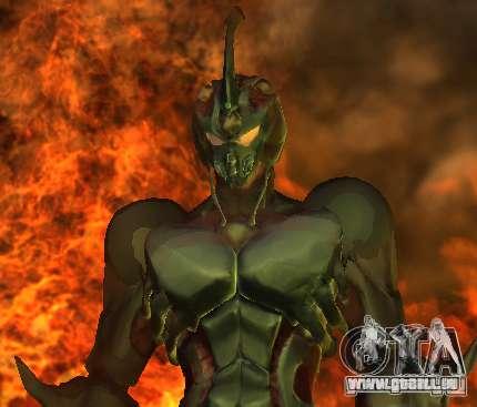 Guyver-I Demo pour GTA San Andreas deuxième écran