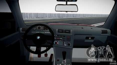 BMW E30 v8 pour GTA 4 est un droit
