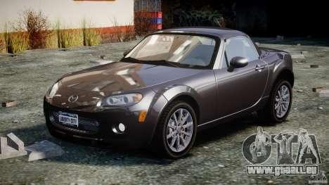 Mazda MX-5 pour GTA 4 Vue arrière