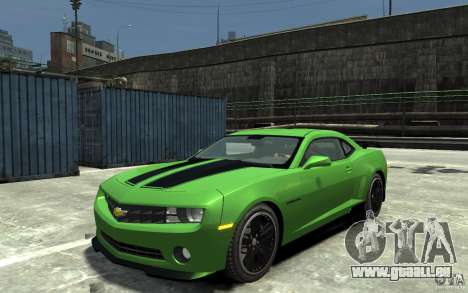 Chevrolet Camaro 2010 Synergy Edition v1.3 pour GTA 4