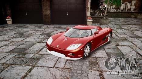 Koenigsegg CCX v1.1 pour GTA 4 est un droit