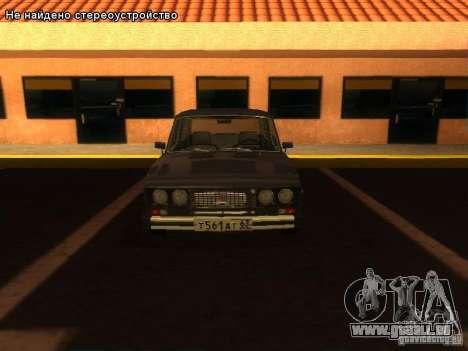 VAZ 2106 pour GTA San Andreas salon