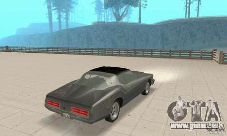 Buick Riviera 1973 pour GTA San Andreas laissé vue