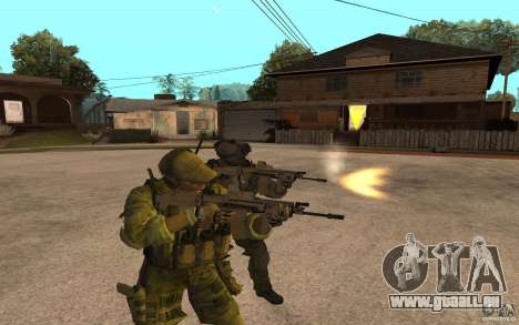 SCAR FN MK16 für GTA San Andreas zweiten Screenshot