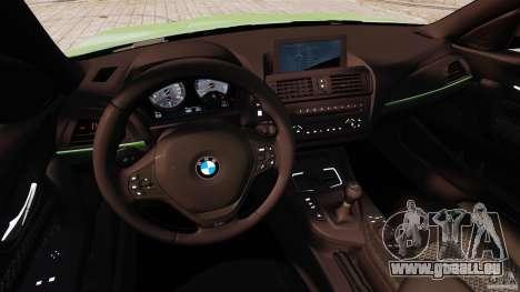 BMW M135i 2013 für GTA 4 Rückansicht