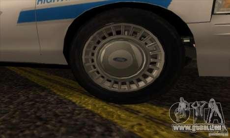 Ford Crown Victoria Arizona Police pour GTA San Andreas vue de droite