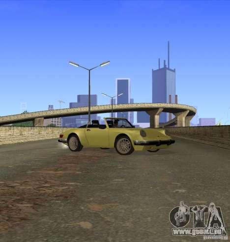 New Comet pour GTA San Andreas vue arrière