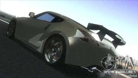 Nissan 370Z Drift 2009 V1.0 pour GTA San Andreas vue arrière