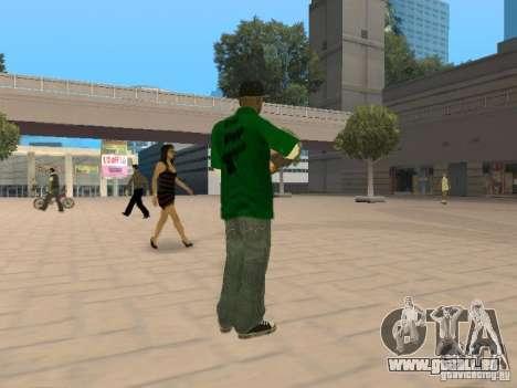 New Sweet pour GTA San Andreas deuxième écran