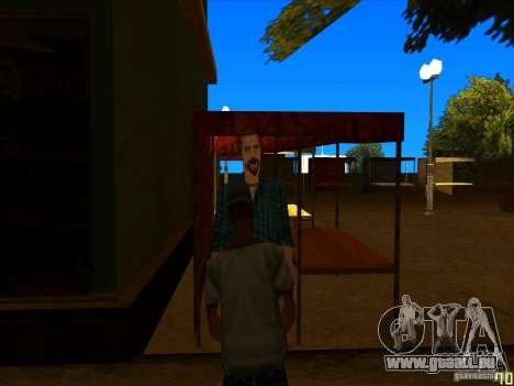 Verlegenheit Gesichts Animationen für GTA San Andreas her Screenshot