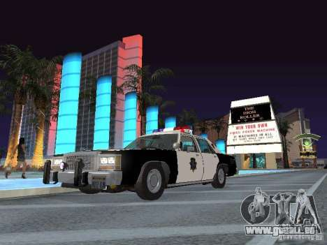 Ford LTD Crown Victoria Interceptor LAPD 1985 für GTA San Andreas