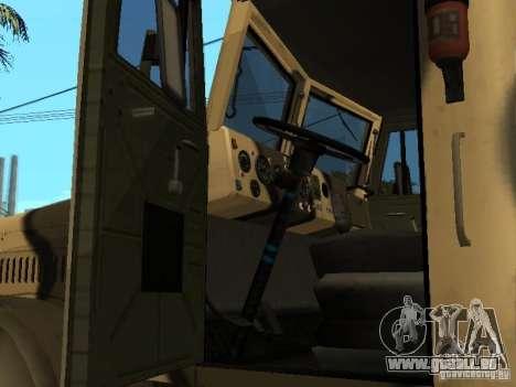 KrAZ 255 B1 v 2.0 pour GTA San Andreas vue de droite