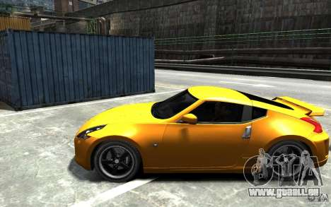 Nissan 370z Tuned Final für GTA 4 linke Ansicht