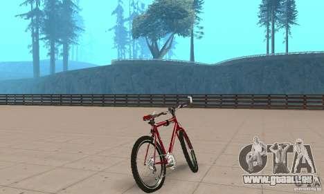 Chongs Mountain Bike pour GTA San Andreas laissé vue