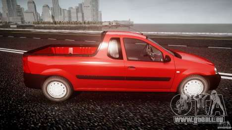 Dacia Logan Pick-up ELIA tuned pour GTA 4 est un côté