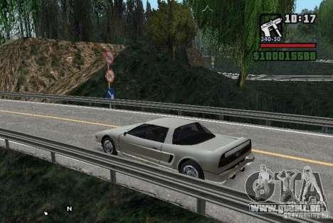 Hjphill V2_0_1 pour GTA San Andreas troisième écran