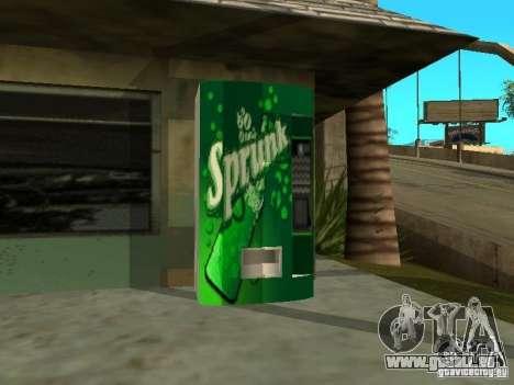Neue Texturen für Maschinen für GTA San Andreas zweiten Screenshot