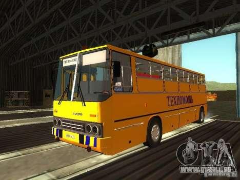 Technique Ikarus 280 pour GTA San Andreas laissé vue