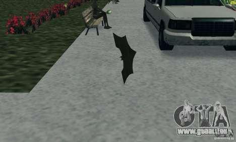 Betarang pour GTA San Andreas troisième écran