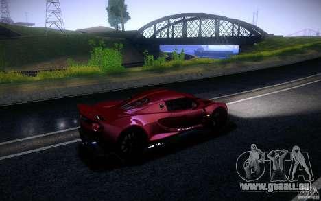Hennessey Venom GT 2010 V1.0 für GTA San Andreas linke Ansicht