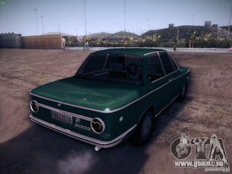BMW 2002 1972 für GTA San Andreas rechten Ansicht
