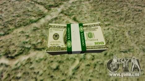 100 Dollar bills US-Notenbank Federal Reserve für GTA 4
