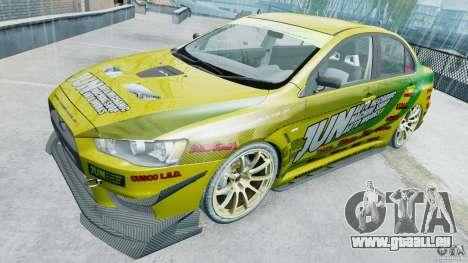 Mitsubishi Lancer X JUN für GTA 4