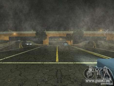 New Airport San Fierro pour GTA San Andreas deuxième écran